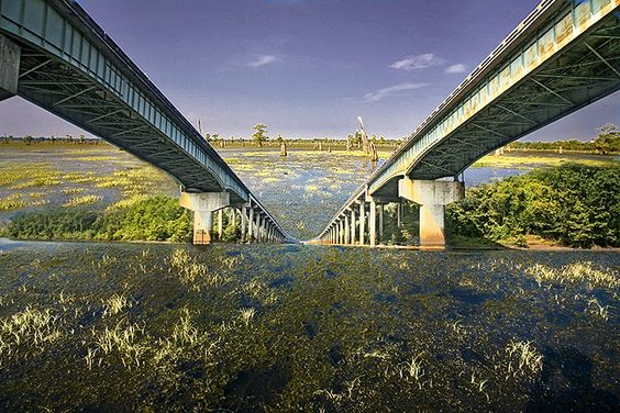 Atchafalaya Basin Bridge, Louisiana