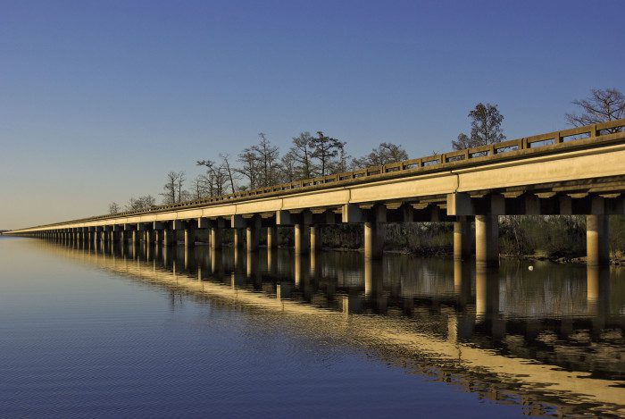 Bonnet Carre Spillway Bridge, Louisiana
