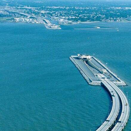 Chesapeake Bay Bridge Tunnel, Virginia