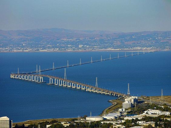 San Mateo Hayward Bridge, California